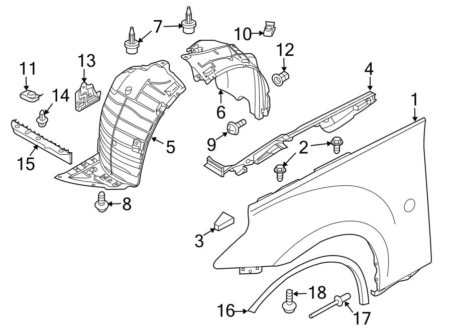 2014 nissan 370z radiator support air deflector  front