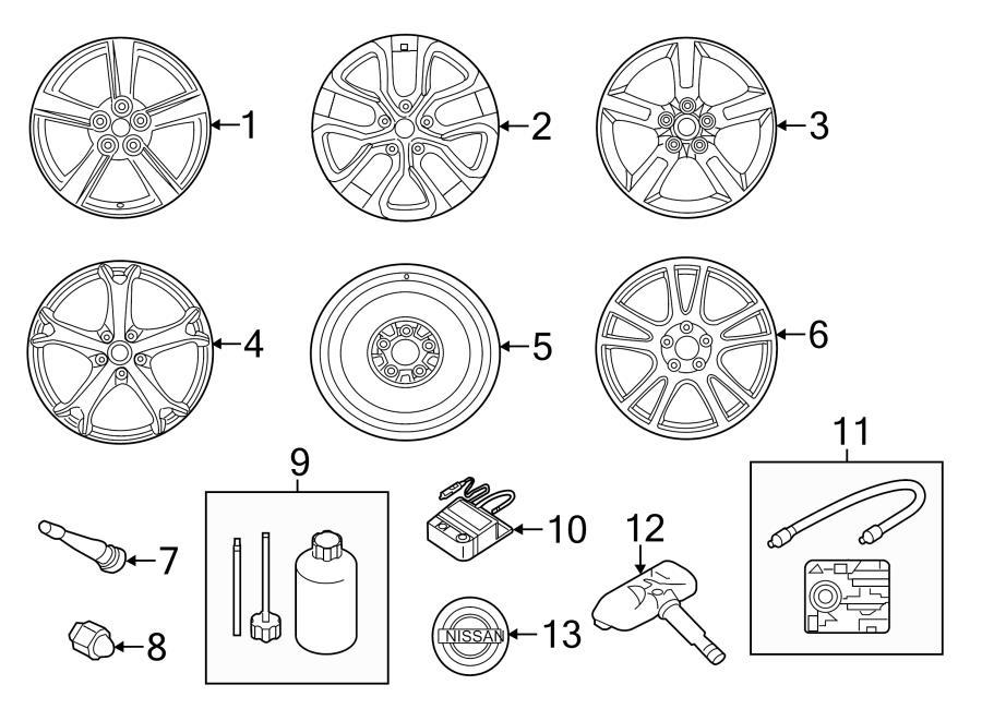 nissan altima wheel cap  chrome  wheels  covers