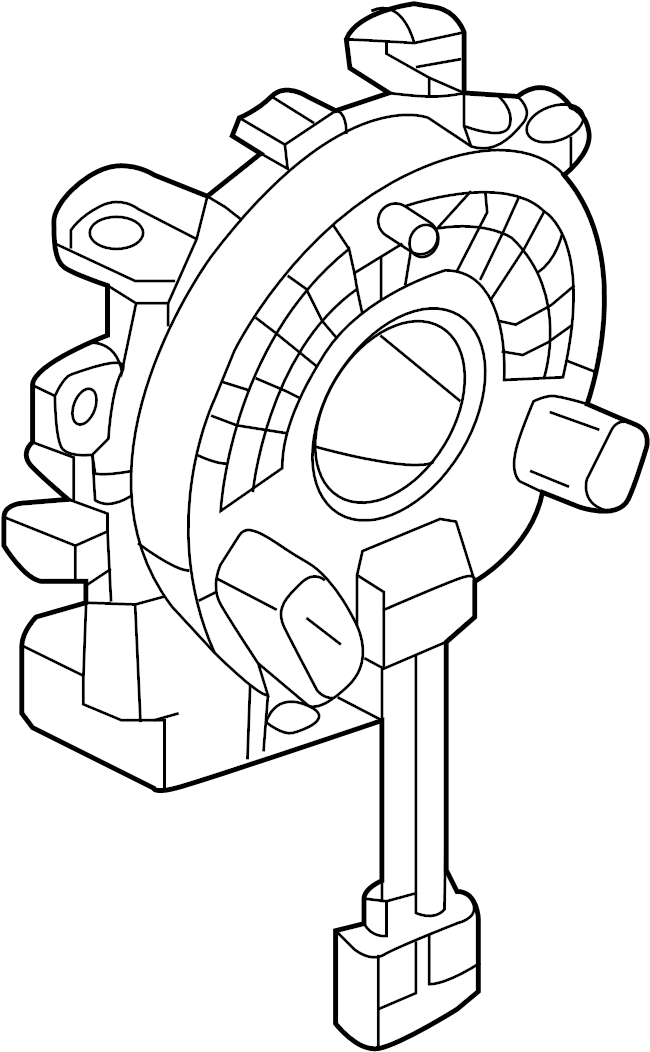 2015 Nissan Pathfinder Air Bag Clockspring Clockspring