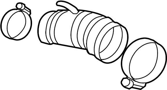 nissan juke air inlet tube  engine air intake hose  tube