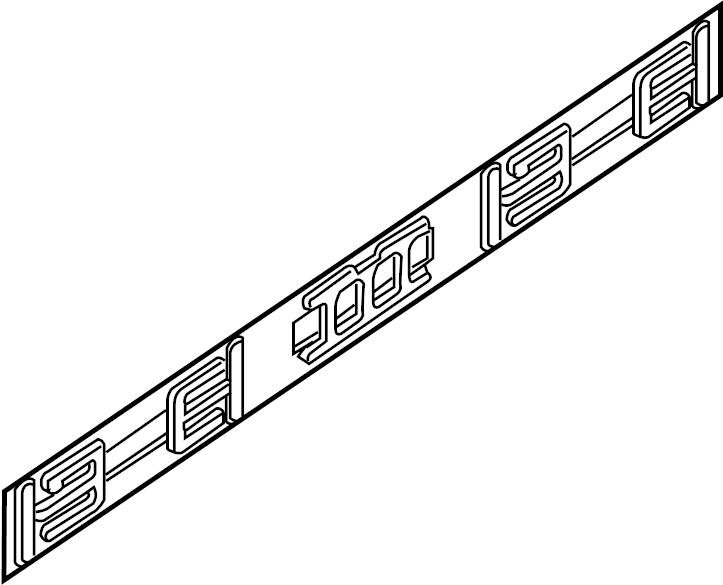 90522ea800 Nissan Inner Panel Side Cover Stopper Tail