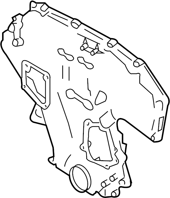 Nissan Pathfinder Engine Timing Cover  Front