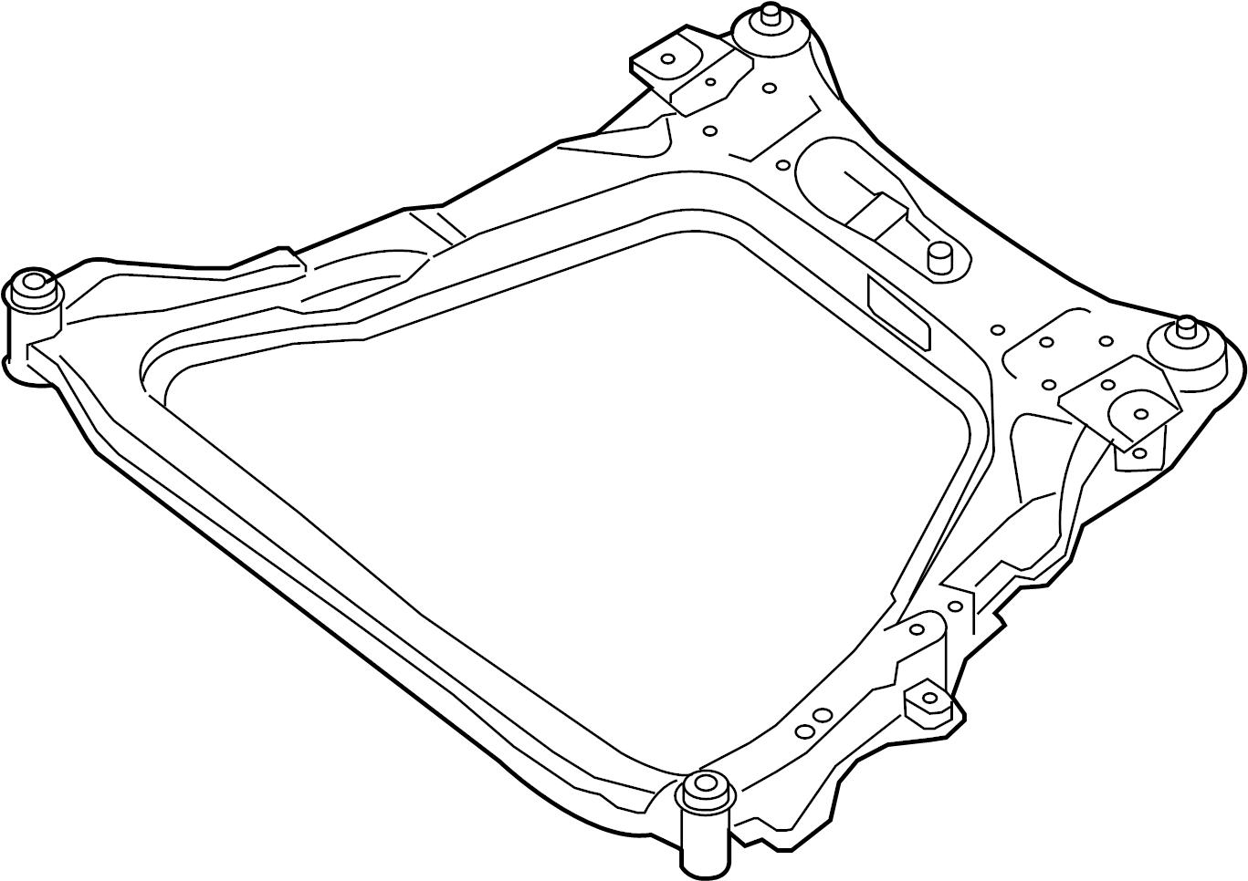 544004ba0a Nissan Center C Member Crossmember Engine