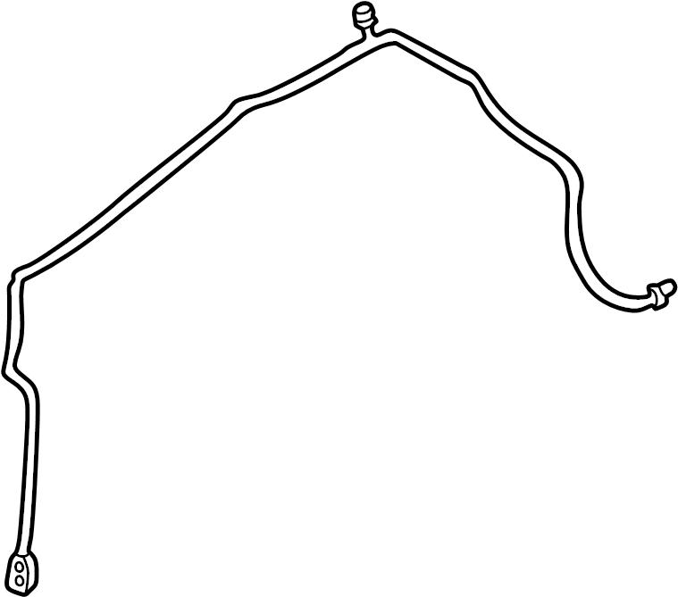 Nissan Sentra Hose Tube Line Suction A C Refrigerant