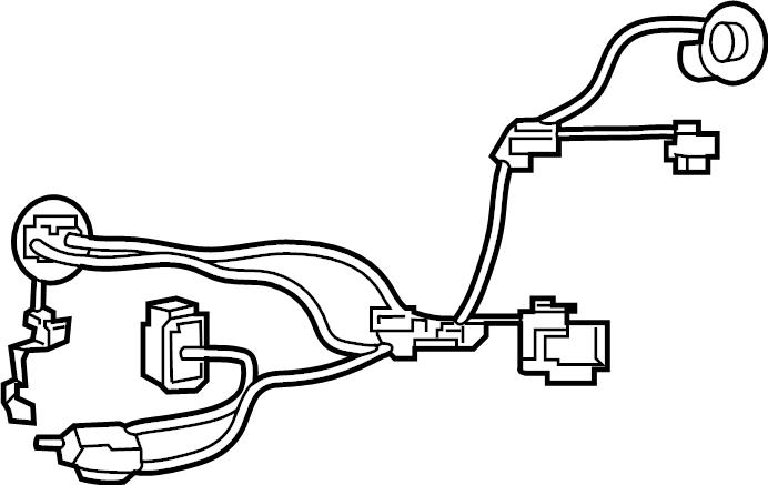 Nissan Sentra Headlight Wiring Harness  Cal  Fed