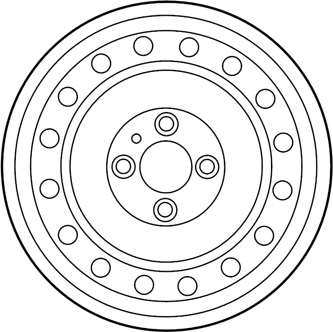nissan altima wheel  spare  may  steel