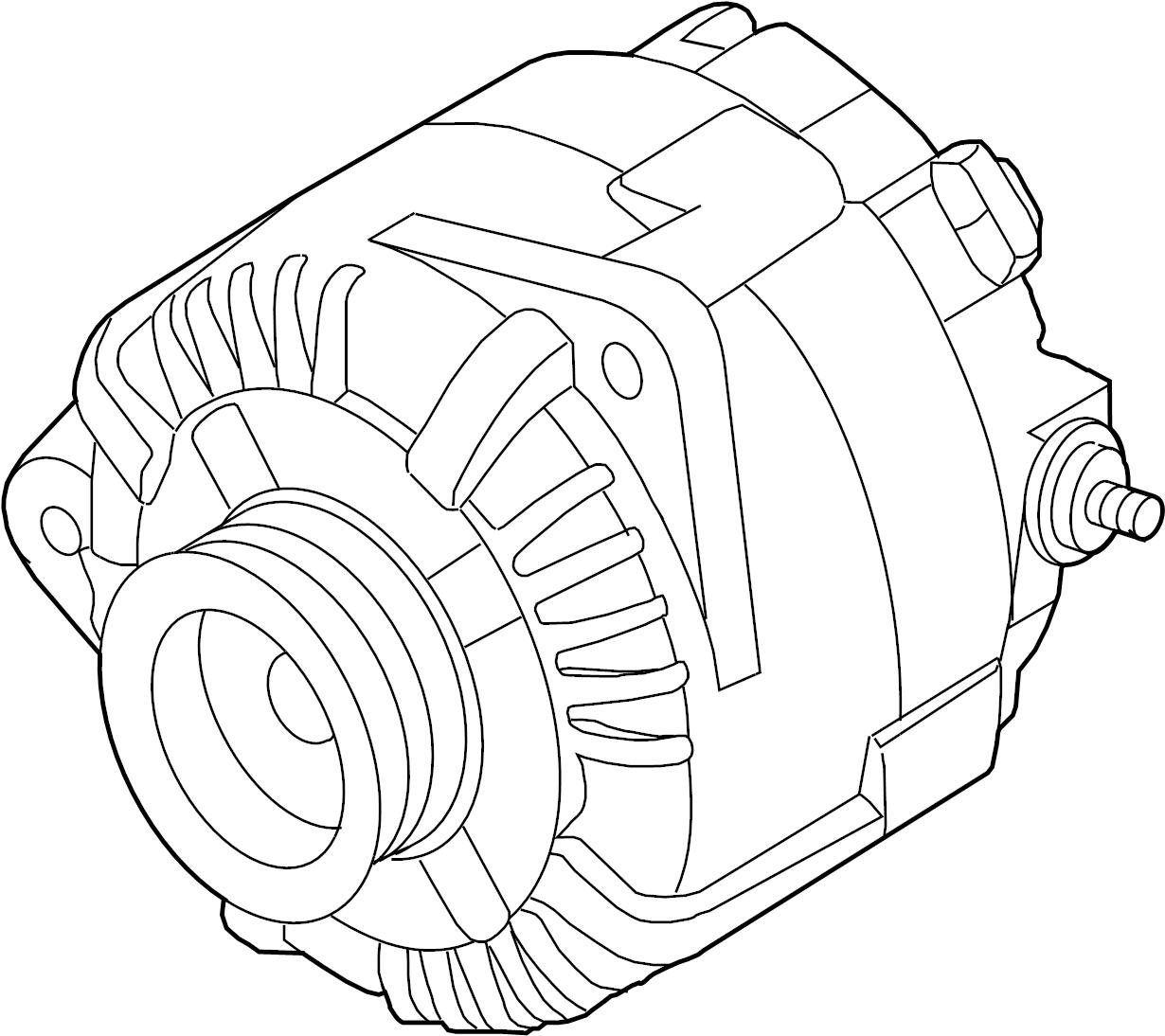 2015 nissan altima alternator assembly remanufactured