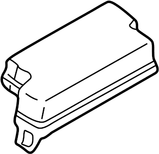 Nissan Pathfinder Fuse Box Cover. Other - 24382-0W001 ...
