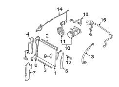 nissan titan a/c pipe. a/c refrigerant liquid pipe ... titan air compressor parts diagram 220v air compressor wiring diagram #10