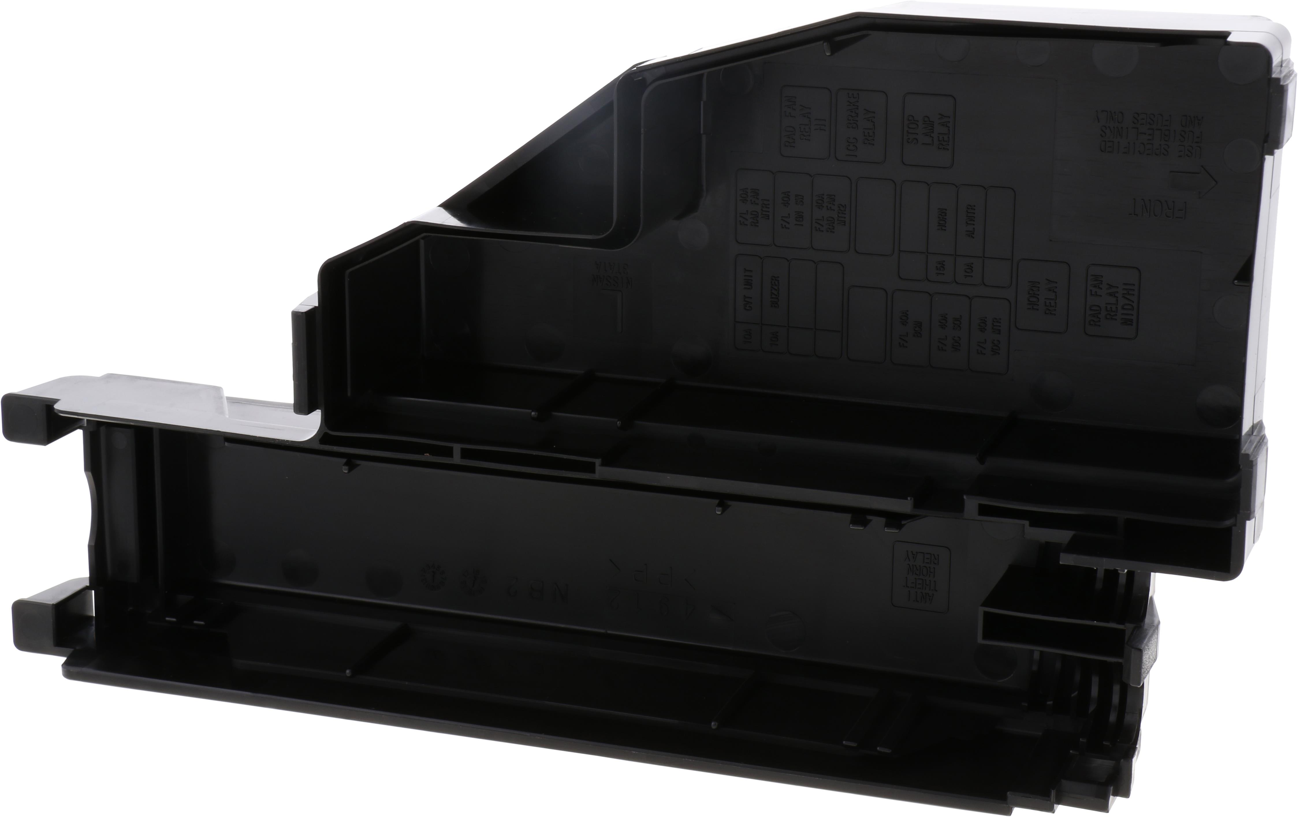 Nissan Altima Fuse Box Cover. ENGINE, ROOM, END - 24382 ...