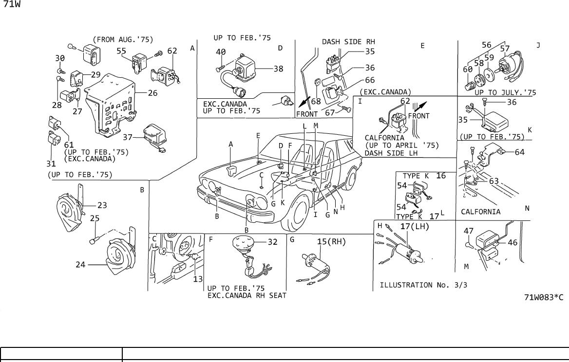 Datsun A10 Controller  Illu Mination  Knob Illumination Un
