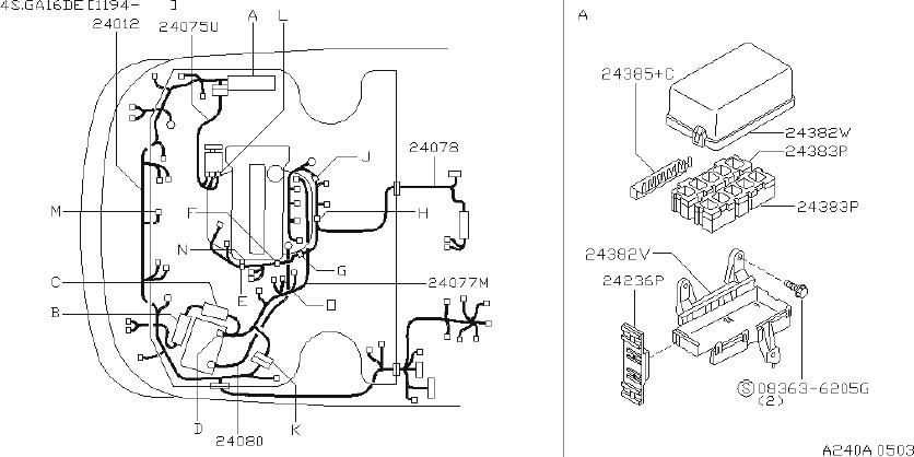 Nissan Pulsar Nx Srs Product Cap Terminal  Fitting  Room