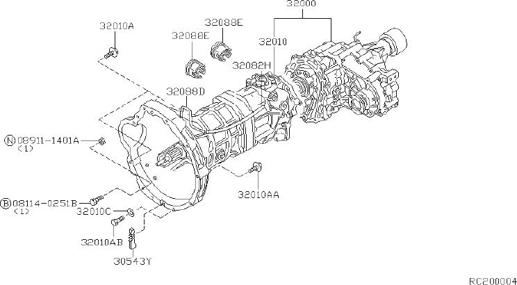 Nissan Frontier Manual Transmission