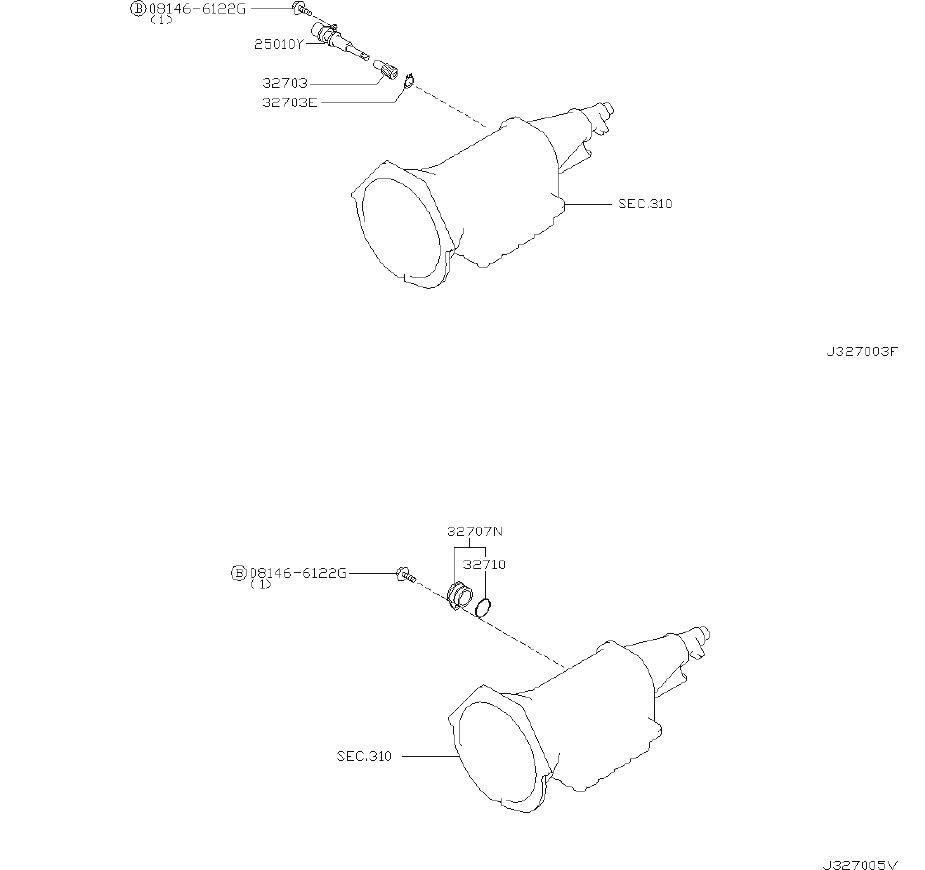 Nissan Pathfinder Plug Speedometer Pinion  Shift  Checking
